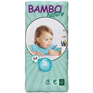 Bambo Nature - 06BNCJJUNTALL - Couches jetables écologiques T5 junior (12-22 kg) 54 couches (430144)
