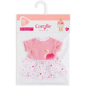 Corolle - 9000110350 - Vêtements pour bébé Corolle 30 cm -  robe cygnes de tendresse (430404)