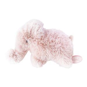 Dimpel - 886106 - Doudou éléphant Oscar rose (431122)