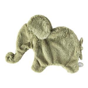 Dimpel - 884936 - Doudou éléphant Oscar vert (431124)