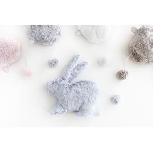 Dimpel - 885872 - Doudou musical lapin Emma bleu (431164)