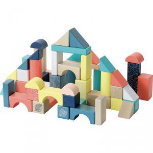 Vilac - 2121 - Baril de 54 cubes Sous la canopée (431286)