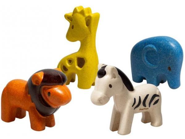 Figurines : 4 animaux de la savane
