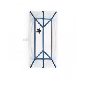 Stokke - BU211 - Flexi bath baignoire pour nouveau-né avec transat et support - transparent blue (432688)