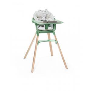Stokke - BU330 - Chaise haute Clikk, coussin et set de table ezpz (432726)
