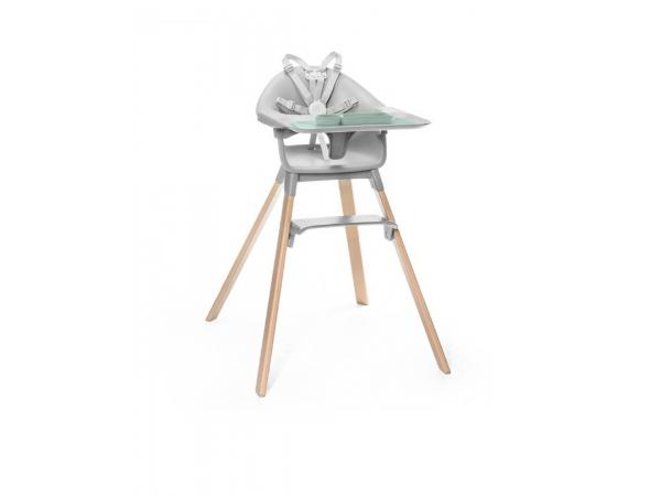 Chaise haute clikk et set de table pour clikk ezpz stokke