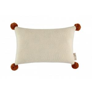 Nobodinoz - N114835 - Coussin tricotée NATURAL (432820)