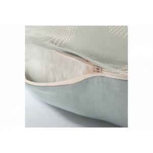 Nobodinoz - N113999 - Coussin maternité Sunrise WHITE GATSBY/ ANTIQUE GREEN (432844)