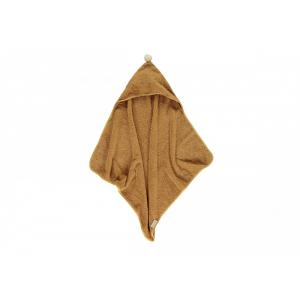 Nobodinoz - N114477 - Cape de bain naissance So Cute CARAMEL (432864)