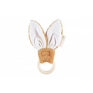 Nobodinoz - N114514 - Anneau de dentition Bunny CARAMEL (432928)