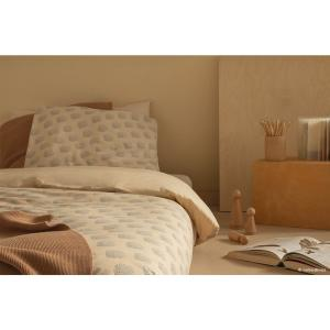 Nobodinoz - N114064 - Housse de couette junior Himalaya BLUE GATSBY/ CREAM (432950)