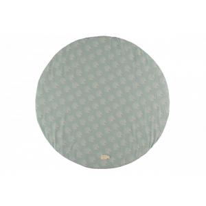 Nobodinoz - N114293 - Tapis de jeu Full Moon WHITE GATSBY/ ANTIQUE GREEN (432956)