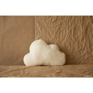 Nobodinoz - N114712 - Coussins Cloud HONEY SWEET DOTS NATURAL (433024)
