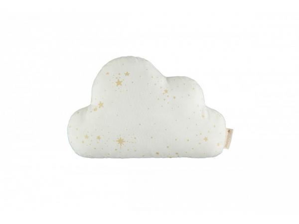 Coussins cloud gold stella/ white
