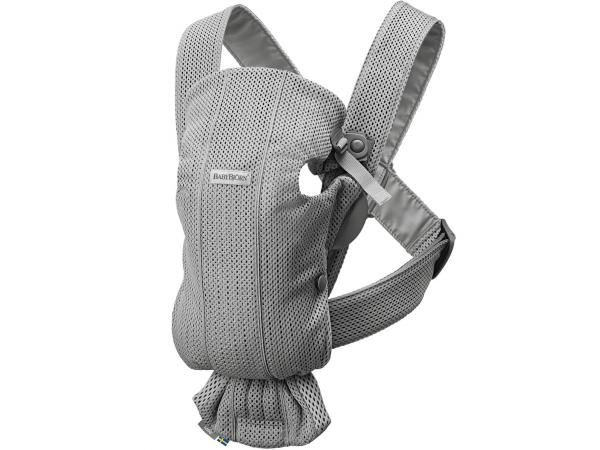 Porte-bébé mini, gris, mesh 3d