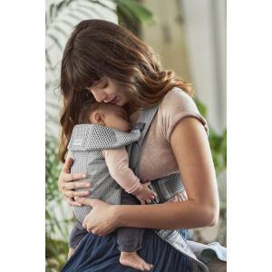 Babybjorn - 021018 - Porte-bébé Mini, Gris, Mesh 3D (433062)