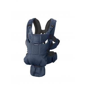 Babybjorn - 099008 - Porte-bébé Move, Bleu foncé, Mesh 3D (433070)