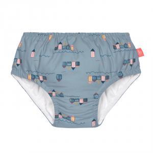 Lassig - 1431001252-12 - Couche maillot de bain filles 12 mois Cabine de plage (433170)