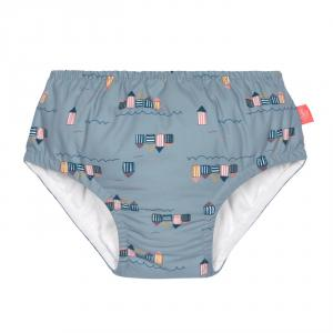 Lassig - 1431001252-18 - Couche maillot de bain 18 mois filles Cabine de plage (433172)