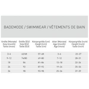 Lassig - 1431002477-06 - Couche maillot de bain garçons Baleine 06 mois (433174)