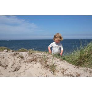 Lassig - 1431020125-06 - T-shirt plage 6 mois filles Cabine de plage (433192)