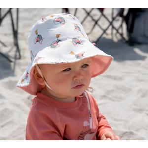 Lassig - 1433005119-06 - Chapeau de Soleil 6mois réversible Madame Mouette (433210)