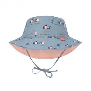 Lassig - 1433005252-12 - Chapeau de Soleil réversible 12 mois Cabine de plage (433218)