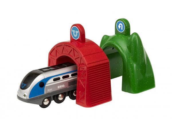 Locomotive intelligente smart tech et portiques - age 3 ans +