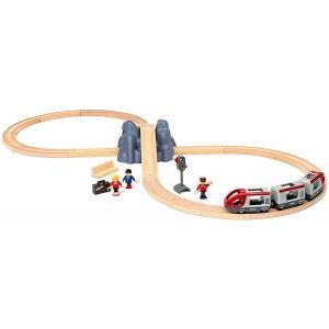 Brio - 33773 - Circuit en 8 voyageurs - pack A - Thème Voyageur - Age 3 ans + (433296)