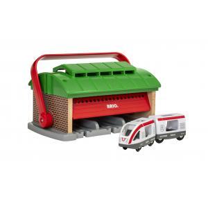 Brio - 33474 - Garage pour trains portatif - Age 3 ans + (433400)