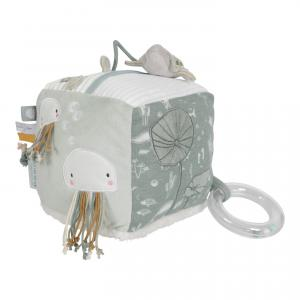 Little-dutch - LD4817 - LD Cube d'activités Soft - Ocean mint (434358)