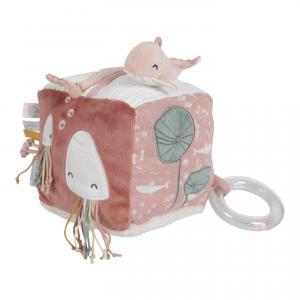 Little-dutch - LD4815 - LD Cube d'activités Soft - Ocean pink (434360)