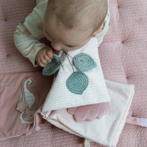 Little-dutch - LD4848 - LD Livre tissu d'activités - Ocean pink (434372)