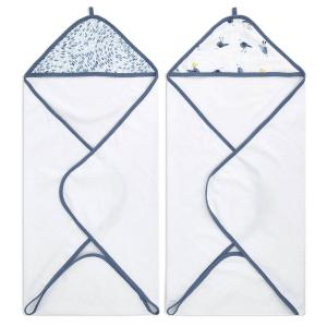 Aden and Anais - EHTC20014B - Aden essentiels lot de 2 capes de bain Seashore (436436)