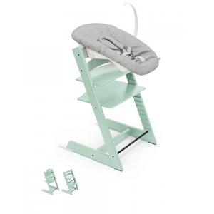 Stokke - BU339 - Chaise haute Tripp trapp Soft mint - dès la naissance (437118)