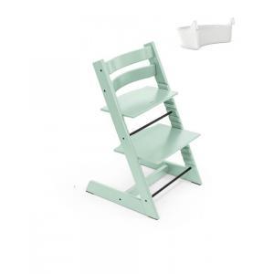 Stokke - BU341 - Chaise Tripp Trapp Soft mint avec Rangement (437122)