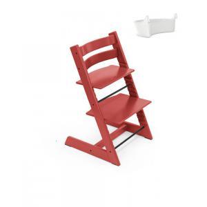 Stokke - BU342 - Chaise Tripp Trapp Warm red avec Rangement (437124)