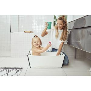 Stokke - 531907 - Flexi Bath baignoire pliable Black and White (437132)