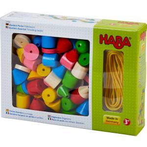 Haba - 2155 - Bambini Serpent en perles à enfiler (44533)