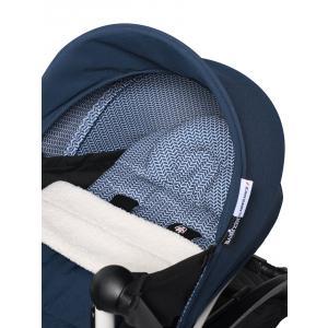 Babyzen - BU591 - YOYO2 dès la naissance poussette bleu Air France cadre blanc nouveau pack 0+ (451234)