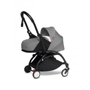 Babyzen - BU602 - YOYO2 poussette naissance compacte gris cadre noir nouveau pack 0+ (451256)