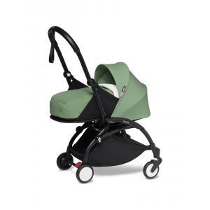 Babyzen - BU604 - YOYO2 poussette utilisable dès la naissance peppermint noir nouveau pack 0+ (451260)