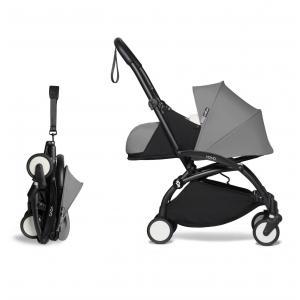 Babyzen - BU620 - YOYO2 poussette maniable gris cadre noir 0+ 6+ - Nouveauté (451292)