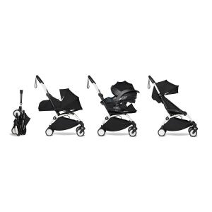 Babyzen - BU630 - YOYO2 pack poussette Babyzen noir avec siège auto iZi Go Modular - blanc 0+ 6+ (451312)