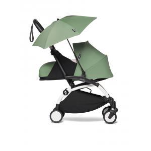 Babyzen - BU667 - YOYO 2 poussette à 0 mois et son ombrelle peppermint blanc nouveau pack 0+ (451386)