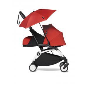 Babyzen - BU668 - Poussette voyage bébé YOYO2 et ombrelle rouge blanc 0+ (451388)