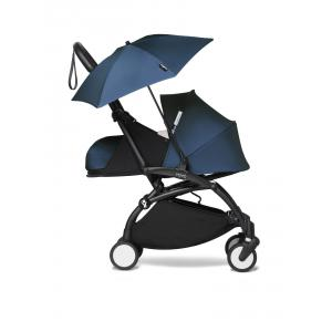 Babyzen - BU672 - Poussette YOYO² 0+ ombrelle Bleu Air France - cadre noir (451396)