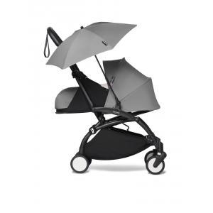 Babyzen - BU674 - Poussette YOYO² 0+ ombrelle Gris - cadre noir (451400)