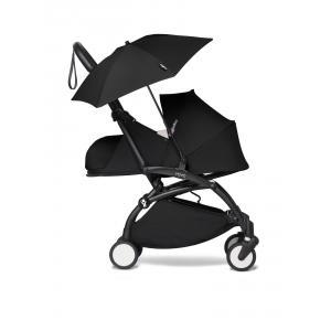 Babyzen - BU675 - Poussette YOYO² 0+ ombrelle Noir - cadre noir (451402)