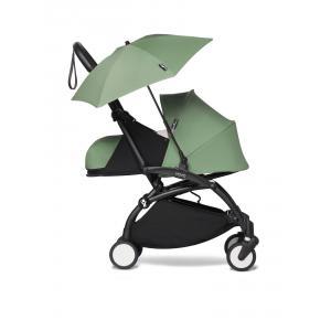 Babyzen - BU676 - Poussette YOYO² 0+ ombrelle Peppermint - cadre noir (451404)